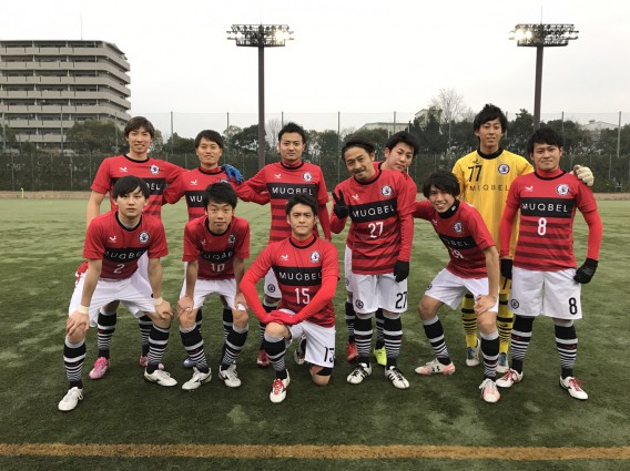 大阪府サッカー社会人選手権のトレーナーに行ってきました。