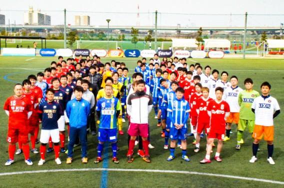 トレーナー兼選手デビュー♪関西ソサイチリーグ開幕2017in堺Jグリーン