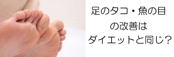 足のタコメッセージ付バナー①