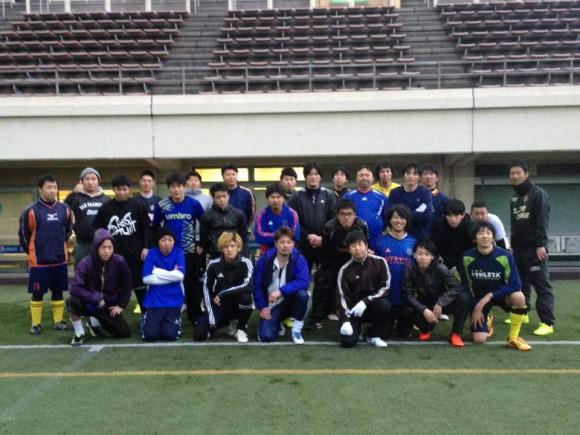 鶴見緑地球技場 サッカー2017